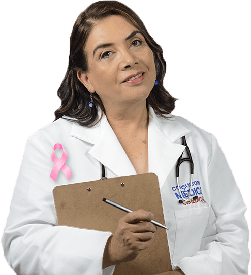una profesional médica
