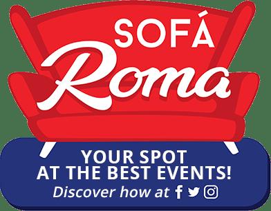 Sofá Roma, Tu lugar en los mejores eventos
